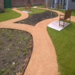 Resin Bonded Stone Paving in Arrow Green 6