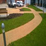Resin Bonded Stone Paving in Arrow Green 2