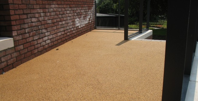 Permeable Resin Bound Paving in Dalavich