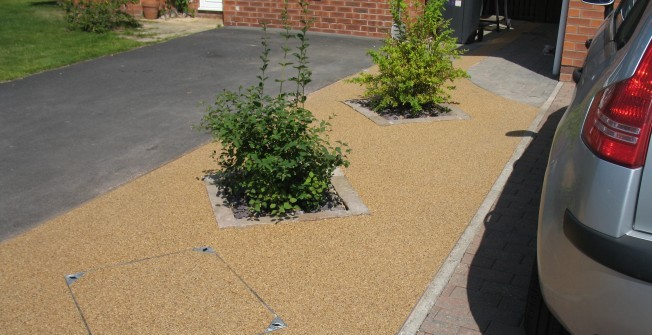 Decorative Paving in Arrow Green